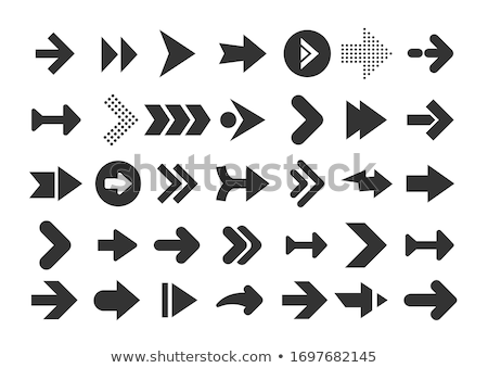 Button keypad sign up with arrow. Stock photo © borysshevchuk