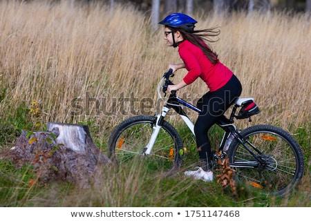 подростков Велоспорт спорт волос друзей темно Сток-фото © photography33