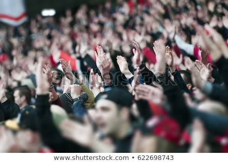 football fans cheering on the german team stock photo © photography33