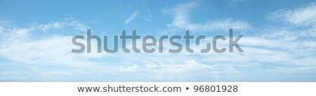 panorâmico · tiro · belo · nublado · céu · natureza - foto stock © moses
