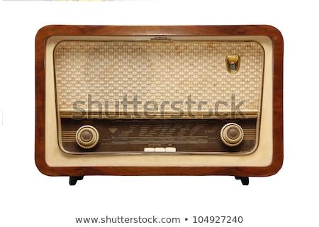 alto-falante · música · estéreo · isolado · branco - foto stock © ozaiachin