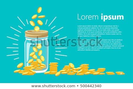 Saving money conception illustration Stock photo © deyangeorgiev
