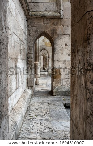 Stock photo: Hallway With Several Arches