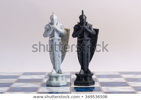 A chess dual Stock photo © photography33