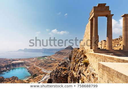 antigo · ruínas · Acrópole · Atenas · Grécia - foto stock © angelp