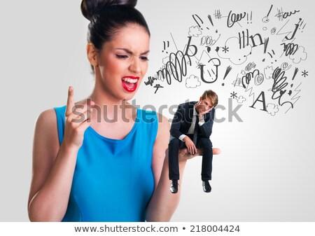 átok · hamisítvány · szótár · meghatározás · szó · kék - stock fotó © devon