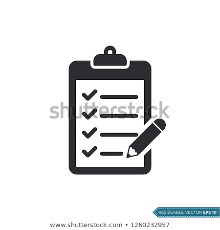 Pen and clipboard stock photo © broker