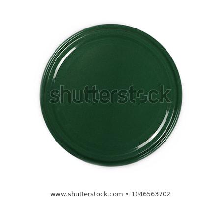 Preto verde boné quadro três ver Foto stock © Ronen