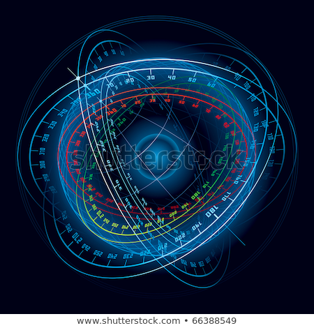 Fantasy Space Navigation Sphere. Stock photo © fixer00