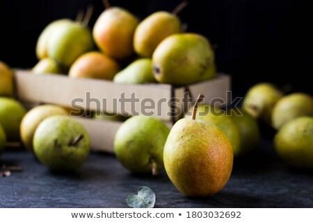 груши листьев продовольствие натюрморт плодов цвета Сток-фото © Sylverarts