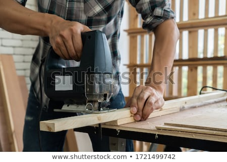 craftsman cutting wood Stock photo © photography33