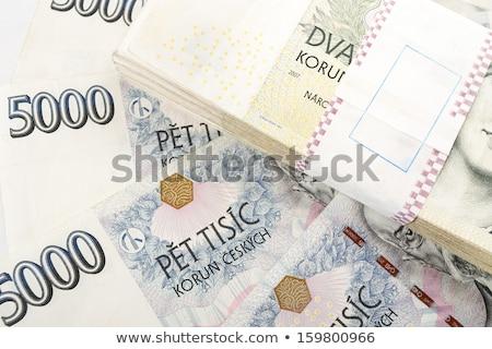 tsjechisch · bankbiljetten · waarde · een · twee · duizend - stockfoto © artush