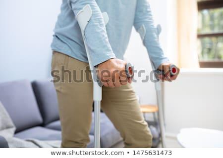 crutch Stock photo © perysty