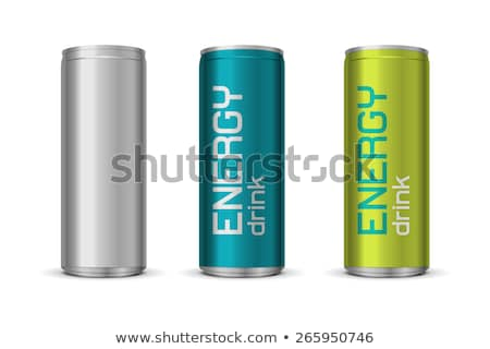 Energy Drink Tin Photo stock © Elisanth