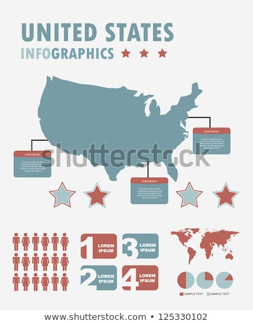 united states of america collection Stock photo © robertosch