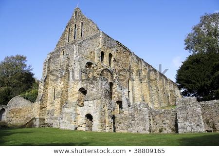 Strijd abdij Engeland begrafenis plaats koning Stockfoto © Snapshot