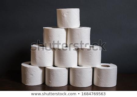 Toiletpapier toren foto bos water Stockfoto © Stootsy