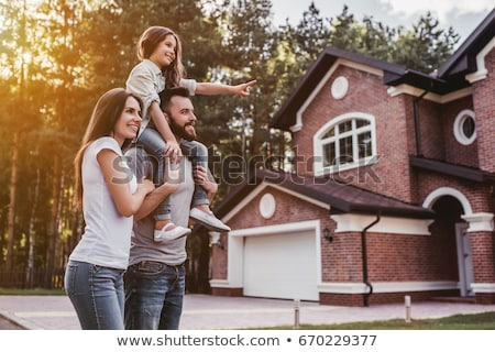 young couple standing in their new home stock photo © photography33
