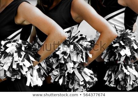 Menina chefe de torcida criança dança Foto stock © zzve