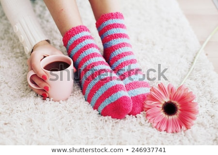 Colorful warm sock Stock photo © Lighthunter