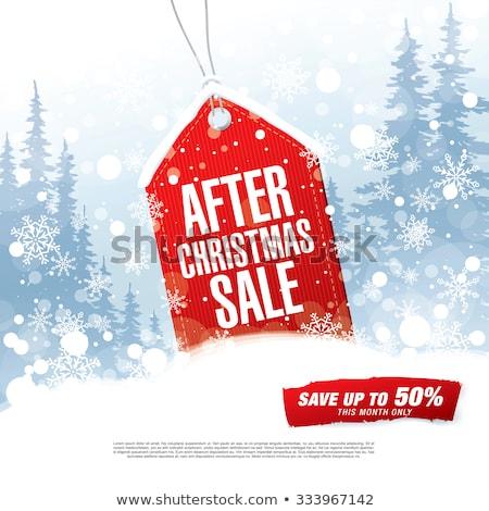 christmas sale stamps stock photo © vipervxw