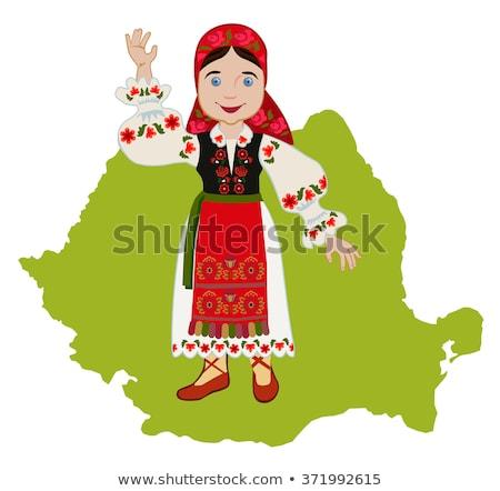 Román nő karcsú fiatal lány szexi Stock fotó © disorderly
