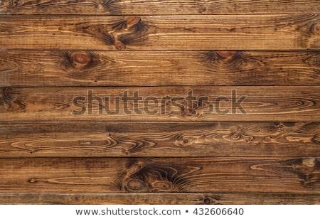 Houten paneel afbeelding muur deur Stockfoto © trgowanlock