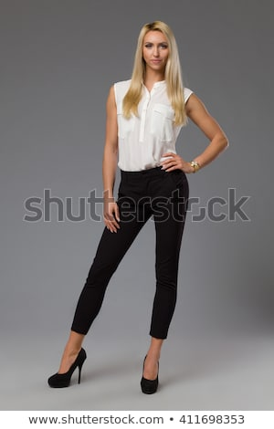 blond model pose stock photo © dash