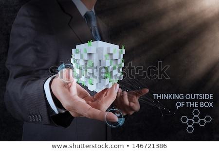 fikir · gelişme · yaratıcılık · düşünceler · düşünme - stok fotoğraf © stuartmiles