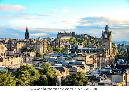 Edinburgh cityscape Stock photo © Hofmeester