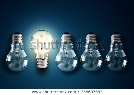 Briljant oplossing licht stralen Stockfoto © 3mc