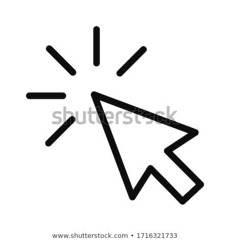 Abstrato mouse cursor computador internet projeto Foto stock © burakowski