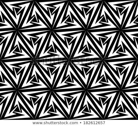 Aggressive Arrows Seamless Pattern Stock photo © fixer00