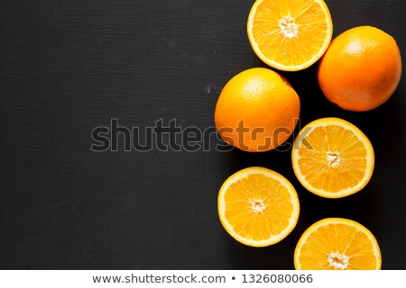 Cut Orange with Copy Space Stock photo © bigandt