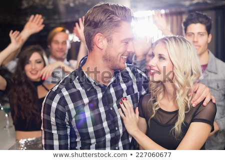 Bar amor beijo clube Foto stock © monkey_business