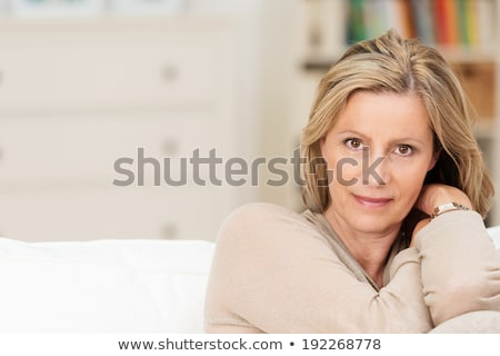 Mid age woman head and shoulders stock photo © monkey_business