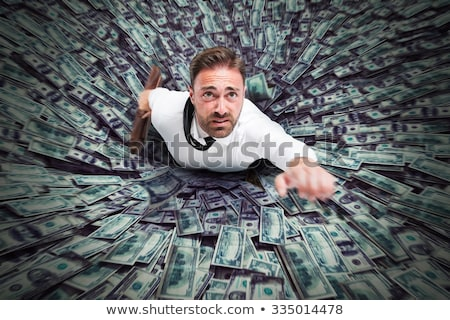 Financeiro buraco cerâmico rosa piggy bank vazio Foto stock © Lightsource