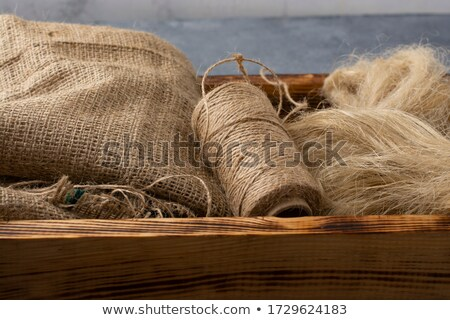 Drying Flax Yarns Stock photo © rghenry