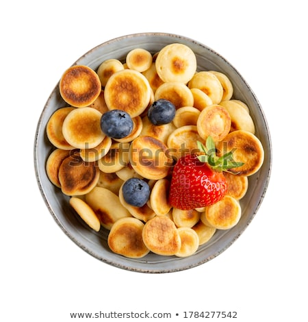 Delicious Pancakes on Plate Served Stock photo © juniart