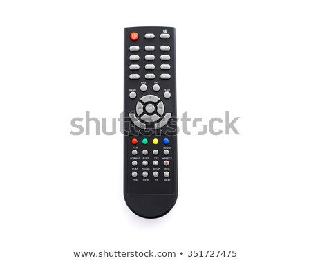 close up of a remote control on white background stock photo © ambro