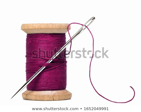 colourful spools of thread isolated on white background stock photo © ozaiachin