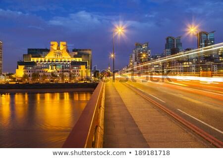 Vauxhall Bridge at Night Stock photo © smartin69