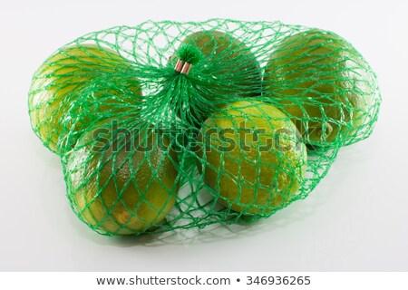 2 石灰 果物 プラスチック 純 白 ストックフォト © peter_zijlstra