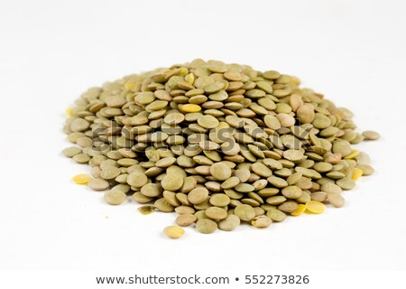 Background texture of dried green lentils Stock photo © ozgur