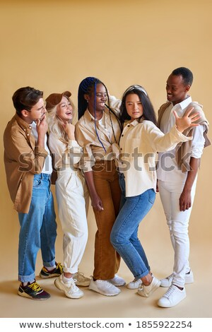 Teamwork People smiling in various outfits Stock photo © joseph_arce