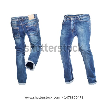 Man in blue jeans Stock photo © MSPhotographic