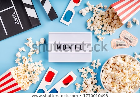 Movie Popcorn Tickets Stock photo © Lightsource