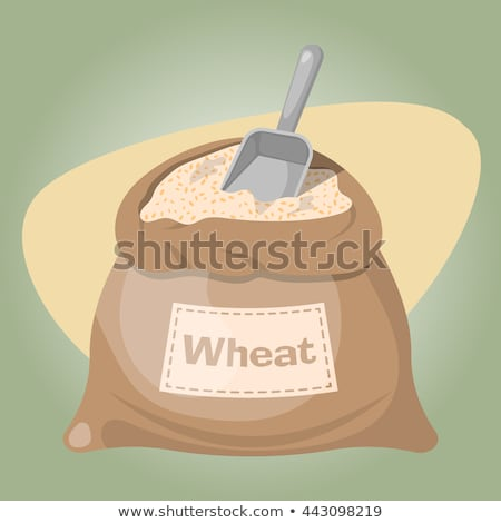 Ripe Wheat and Sacks with Grain Stock photo © stevanovicigor