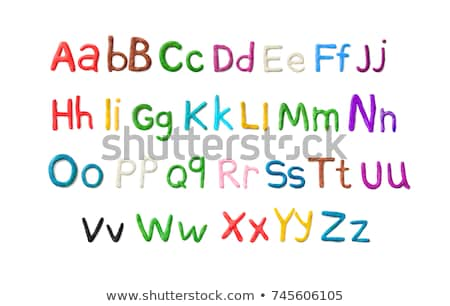alphabetical play Stock photo © get4net