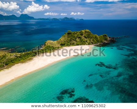 Beach - El Nido Stock photo © jarin13